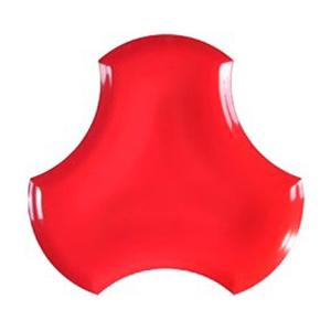 FAN POP RED 25X25