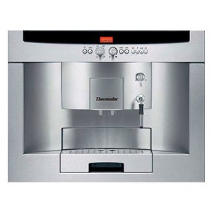 BUILT-IN FULLY AUTOMATIC COFFEE MACHINE, STAINLESS STEEL